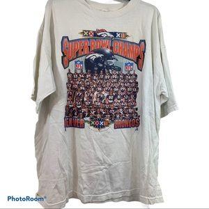 Vintage Super Bowl Denver Broncos T-Shirt